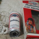 BUDWEISER Beer Can Phone Telephone Used and Broken