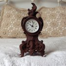 CLOCK BODY Decorative Cast Iron Mantle Shelf Table Used