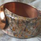 MATISSE RENOIR Designer Copper Cuff Bracelet Vintage