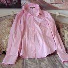 WYNN Casino Las Vegas Women's Pink Shirt Blouse Sz 12