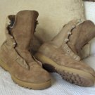 BELLEVILLE Dark Suede Leather Military Boots Sz 10