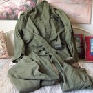 OLD GREEN MILITARY OVERALLS COVERALLS Size 40L