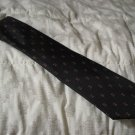 NECK TIE Christian Dior Black Plus Sq Neckwear 56 inch