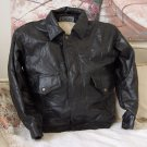 CELLINI Black Patchwork Leather Jacket Size M Used