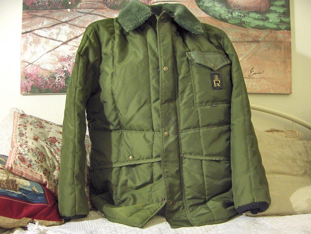 REFRIGERWEAR Refrigerator Jacket Sz XL Green Used