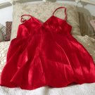 WOMENS Little Red Sexy Babydoll Nighty Size Small Used