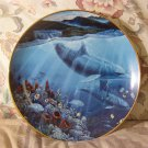 LAHAINA COLLECTORS PLATE Dolphin Danbury Mint 1991