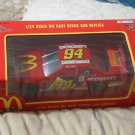 BILL ELLIOTT 1996 Racing Champions 1/24 McDonald's Monopoly Nascar Diecast Car