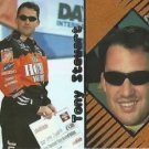 TONY STEWART 2001 Press Pass Optima Nascar Trading Card No 25