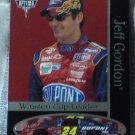JEFF GORDON 2001 Press Pass Optima Nascar Trading Card No 42
