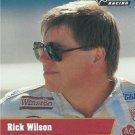 Rick Wilson Nascar Pro Set 1991 Card #26