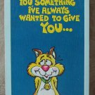 MARK 1 Inc. 1977 Vintage Defect Greeting Card Style 37A Happy Birthday