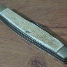 IMPERIAL Body Style Delrim Handle 3 Blade Vintage Pocket Knife No Tang Stamp