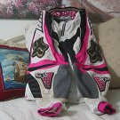 FX Motocross Motorcycle Racing Pants Pink Teen Sz 30 Used
