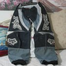 FX Motocross Motorcycle Racing Pants Grey Black Teen Sz. 28 Used