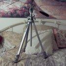 "VELBON Model VS-3 Aluminum Adjustable Tilt Camera Tripod 59"" Maximum Height"