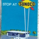 ROAD MAP 1969 Sunoco Highways And Towns In New York State