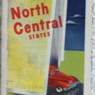 ROAD MAP 1948 Triple A Routes Of 13 States North Central United States AAA