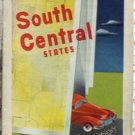 ROAD MAP 1948 Triple A Routes Of 11 States South Central United States AAA