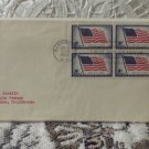 First Day Issue Cover Stamp Flag, Long May it Wave 1957 4c