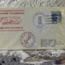 First Day Issue Cover Stamp Greek Destroyer Sfendoni 1960 4c