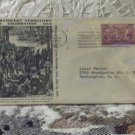 First Day Issue Cover Stamp Northwest Territory 1937 3c