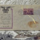 First Day Issue Cover Stamp Navy Hero Series 1937 3c