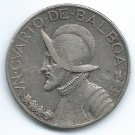 COIN MONEY Panama 1930 1/4 Balboa Silver