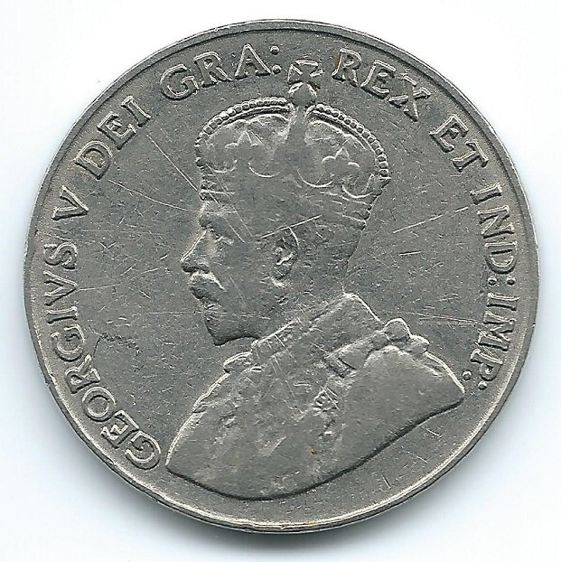 1930 5 cent coin value