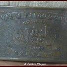 WELLS FARGO Unlicensed Vintage Brass Belt Buckle Train Design
