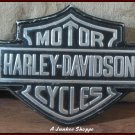 HARLEY DAVIDSON Painted Aluminum Take Off Bar & Shield Logo Motorcycle Emblem