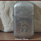 ZIPPO LIGHTER Camel Cigarettes Smoking Biker Joe Theme On Midnight Chrome