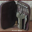 BEST KEYs And Antique Samson Key Case With Prentice Zipper 1938 1941 Era