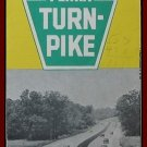 ROAD MAP 1951 (Pennsylvania) Penna Turn Pike System From Ohio To New Jersey