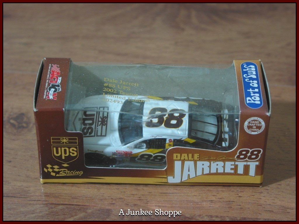 DALE JARRETT #88 UPS Action RCCA Port Of Subs 2002 Promo 1/64 Scale Diecast Car