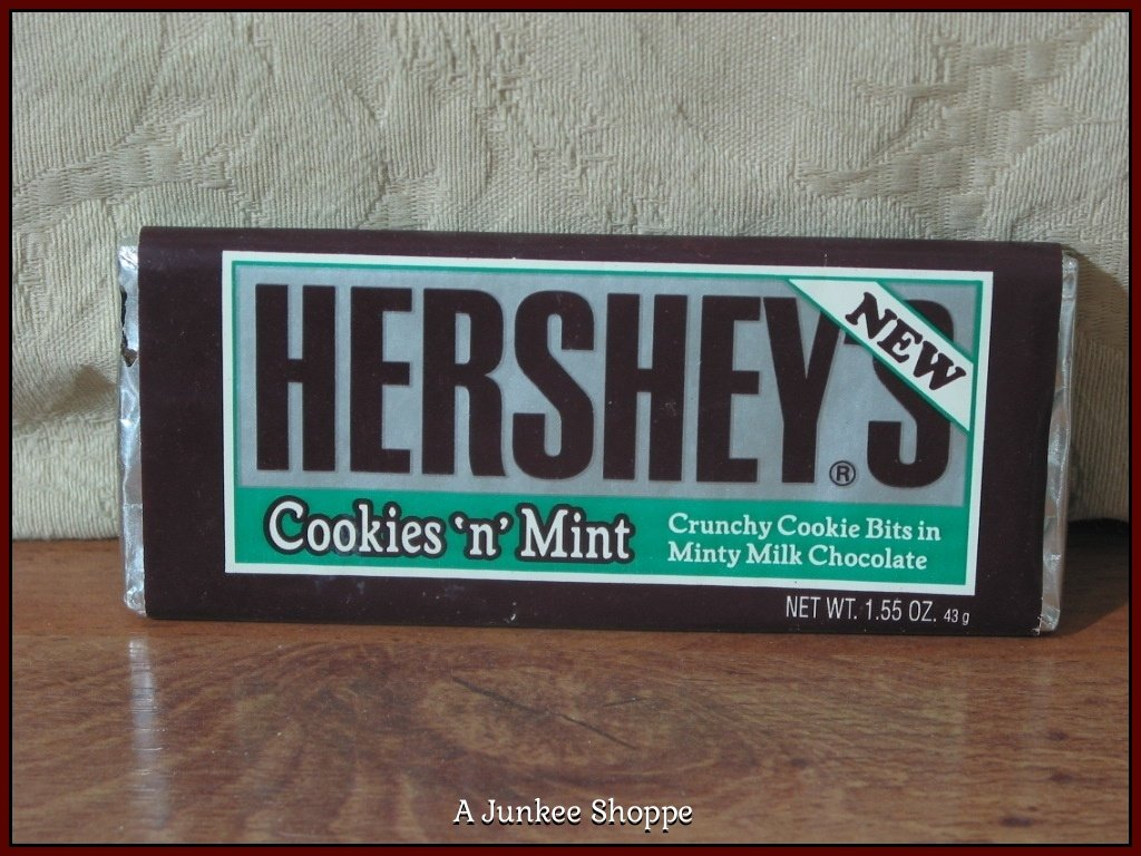 Hershey S Cookies N Mint 1992 Chocolate Candy Bar Unopened
