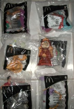 Mcdonalds Beauty and The Beast New in Bags