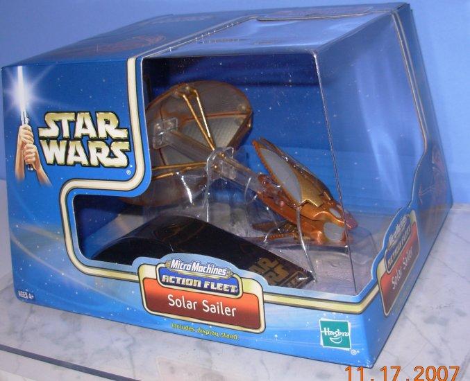 Star Wars Micromachines Solar Sailer New in Box