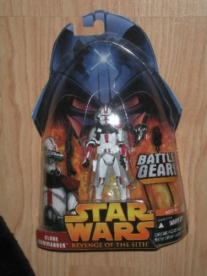 Star Wars Rots Clone Commander RED New