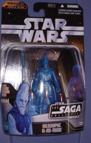 Star Wars The Saga Collection Holographic Ki-Adi-Mundi New