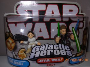 STAR WARS GALACTIC HEROES PADME AMIDALA AND ANAKIN SKYWALKER