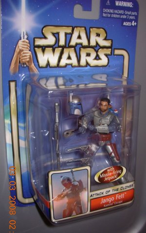 "AOTC 5"" Jango Fett Kamino Escape New in Package"