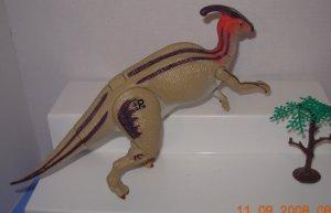 "Authentic Jurassic Park 10""Parasaurolophus Dinosaur"