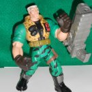 "SMALL SOLDIERS 7"" COMANDO ELITE CHIP HAZARD WITH ACCESSORIES"