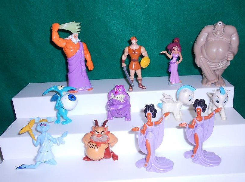 Disney's Hercules (12) Figures lot