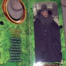 "2001 LOTR Fellowship of the Ring 12"" Gandalf the Grey Authentically Style Fabric"