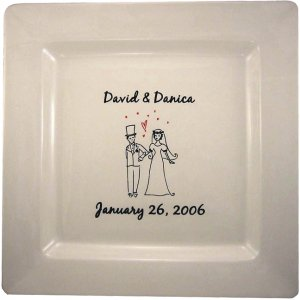Personalized Signature Guestbook Platter