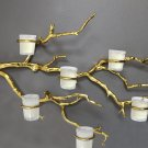 Gold Tree Branch Candle Holder Tree Branch Decor Candle Holder Manzanita Tree Candle Holder