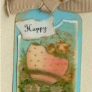 Happy Easter Handmade Scrapbook Tag