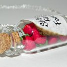 Strawberry Fields Necklace, Bottle Necklace